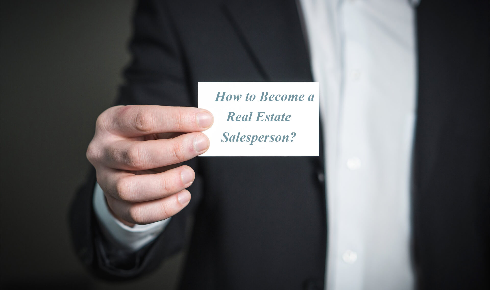 How to Become a Real Estate Salesperson in Ontario?